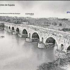Sellos: PRUEBA DE LUJO, ESPAÑA. AÑO 2013, EDIFIL Nº 113 ''PUENTES: MÉRIDA (BADAJOZ)''./ MNH.. Lote 277297548