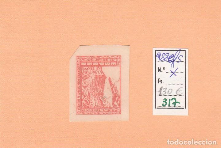 CRSE0317 OFERTA 50% SOBRE CATALOGO SELLO Nº 988EFS X SIN DENTAR BORDE DE ROJO 65 (Sellos - España - Pruebas y Minipliegos)