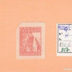 Sellos: CRSE0317 OFERTA 50% SOBRE CATALOGO SELLO Nº 988EFS X SIN DENTAR BORDE DE ROJO 65. Lote 280387658