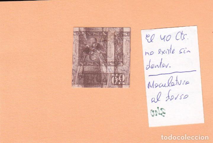 Sellos: CRSE0340 OFERTA 50% SOBRE CATALOGO SELLO Nº 1027XX SIN DENTAR MUY RARO 250 - Foto 2 - 280391943