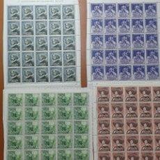 Selos: SELLOS ESPAÑA OFERTA SERIE DE MINIPLIEGO EN NUEVO VELAZQUEZ. Lote 287570678