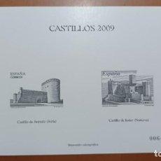 Sellos: SELLOS ESPAÑA OFERTA IMPRESIÓN CALCOGRÁFICA 2009. Lote 287572418
