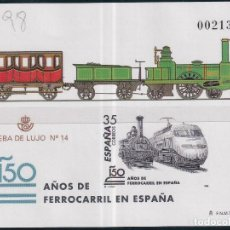 Sellos: SELLOS ESPAÑA OFERTA AÑO 1998 PRUEBA DE LUJO EDIFIL NÚMERO 67 EN NUEVO VALOR DE CATALOGO 12 €. Lote 291855913