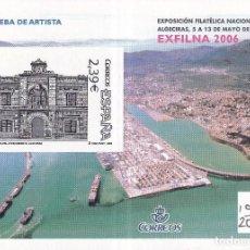 Sellos: SELLOS ESPAÑA OFERTA AÑO 2006 PRUEBA DE LUJO EDIFIL NÚMERO 92 SOBRE EN NUEVO VALOR DE CATALOGO 14 €. Lote 291856123