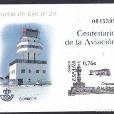 Sellos: SELLOS ESPAÑA OFERTA AÑO 2003 PRUEBA DE LUJO EDIFIL NÚMERO 82 EN NUEVO VALOR DE CATALOGO 12 €. Lote 291856238
