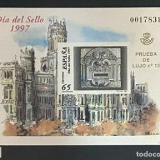 Sellos: ESPAÑA SPAIN PRUEBAS DE LUJO NUMERO 62. Lote 292396028