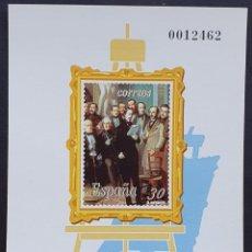 Francobolli: ESPAÑA PRUEBA OFICIAL EDIFIL 36 – ANTONIO MARÍA ESQUIVEL – LUJO, ARTISTA 1995. Lote 295332423