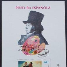Francobolli: ESPAÑA PRUEBA OFICIAL EDIFIL 60 – FRANCISCO DE GOYA – LUJO, ARTISTA 1996. Lote 295332608