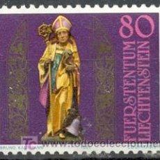 Sellos: LIECHTENSTEIN - 16º CENTENARIO DE SAN TEODULO. NUEVO CON GOMA ORIGINAL . Lote 4487314