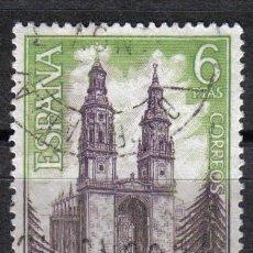 Sellos: ESPAÑA 1969 - 6 P EDIFIL 1938 - STA. MARIA DE LA REDONDA (LOGROÑO) - USADO. Lote 8112829