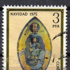 Sellos: ESPAÑA 1975 3 P EDIFIL 2300 - LA VIRGEN DEL NIÑO. SANTUARIO DE SAN MIGUEL. Lote 8125215
