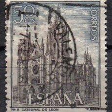 Sellos: ESPAÑA 1964 0.5 P EDIFIL 1542 - CATEDRAL DE LEON. Lote 8125535