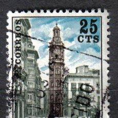 Sellos: VALENCIA 1978 0.25 P EDIFIL 9 - TORRE DE SANTA CATALINA. Lote 8125715