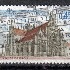 Sellos: FRANCIA 1969 0.45 F YVERT 1582. IGLESIA DE BROU. Lote 8153185