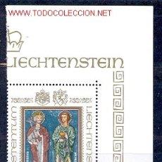 Sellos: LIECHTENSTEIN - SAN LUCIO Y SAN FLORIAN. Lote 22363683