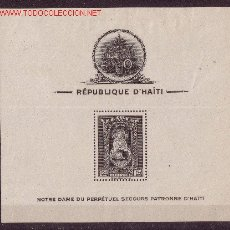 Sellos: HAITÍ HB 1/3*** - AÑO 1943 - VIRGEN DEL PERPETUO SOCORRO. Lote 26286337