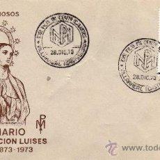Sellos: VILLARREAL,CASTELLON.PRIMER CENTENARIO CONGREGACION LUISES.EXPO NACIONAL TEMAS RELIGIOSOS. Lote 26307368