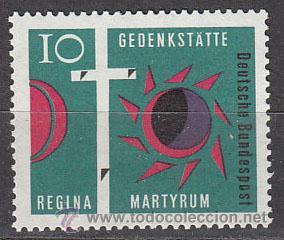 ALEMANIA IVERT Nº 0269, CONSAGRACIÓN DE LA IGLESIA REGINA MARTYRUM DE BERLIN, NUEVO (Sellos - Temáticas - Religión)