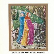 Sellos: VATICANO IVERT 430, 7º CENTENARIO DE DANTE, LA DIVINA COMEDIA (PURGATORIO) MAXIMA DE 18-5-1965. Lote 31269526