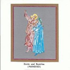 Sellos: VATICANO IVERT 430, 7º CENTº DE DANTE, LA DIVINA COMEDIA (DANTE Y BEATRIZ, PARAISO) MAXIMA 18-5-1965. Lote 31269546