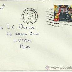 Sellos: LUTON CC PRIMER DIA SELLO EJERCITO DE SALVACION 1965 MUSICA . Lote 31547833