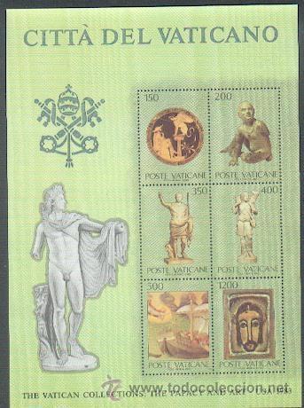 VATICANO ** & PAPADO E A ARTE / USA 1983 (1) (Sellos - Temáticas - Religión)
