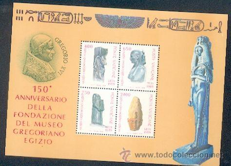 Sellos: Vaticano ** & 150 Anivers. da Fund. do Museo Gregoriano / Egito - Foto 1 - 34703884