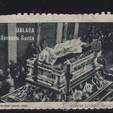 Sellos: VIÑETA PRO - SEMANA SANTA DE MALAGA . Lote 36719927