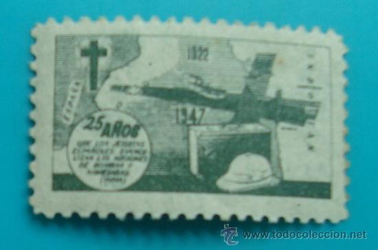25 AÑOS DE LAS MISIONES JESUITAS EN LA INDIA, 1922 - 1947, NUEVO CON GOMA (Sellos - Temáticas - Religión)
