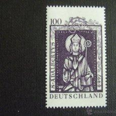 Sellos: ALEMANIA FEDERAL Nº YVERT 1746*** AÑO 1997.MILENARIO S.ADALBERTO. EMIS,CONJ.HUNGRIA,POLONIA ,CHEQUIA. Lote 115039498
