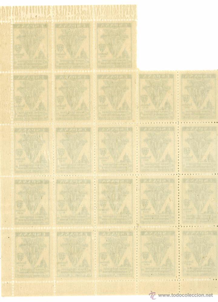 Sellos: HOJITA BLOQUE (FALTAN 2) CONGRESO INTERNACIONAL CONGREGACIONES MARIANAS BARCELONA 1947 - Foto 2 - 49682507