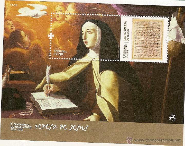 PORTUGAL ** & V CENTENÁRIO DO NASCIMENTO DA SANTA TERESA DE JESUS 1515-2015 (Sellos - Temáticas - Religión)