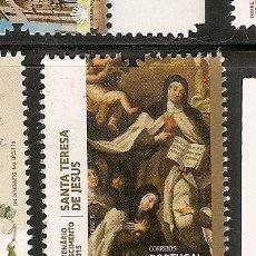 Sellos: PORTUGAL ** & V CENTENÁRIO DO NASCIMENTO DA SANTA TERESA DE JESUS 1515-2015. Lote 51809006