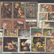 Sellos: LOTE DE 23 SELLOS DE BUENA CALIDAD DE ARTE Y PINTURA RELIGIOSA.. Lote 55811785
