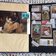 Sellos: COLECCION SELLOS RELIGIOSOS CON ÁLBUM DE MUCHOS PAÍSES VER FOTOS. Lote 56663925