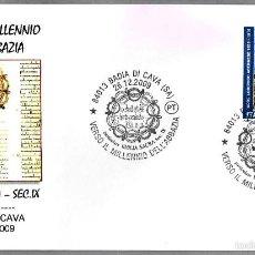 Sellos: BIBLIA SACRA SIGLO IX - BIBLIA DE TIRRENI - ESCRITA EN ASTURIAS. BADIA DI CAVA, ITALIA, 2009. Lote 57995224