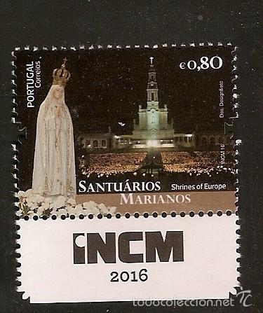 PORTUGAL ** & SANTUARIOS MARIANOS DE EUROPA, FÁTIMA 2016 (PUB) (Sellos - Temáticas - Religión)