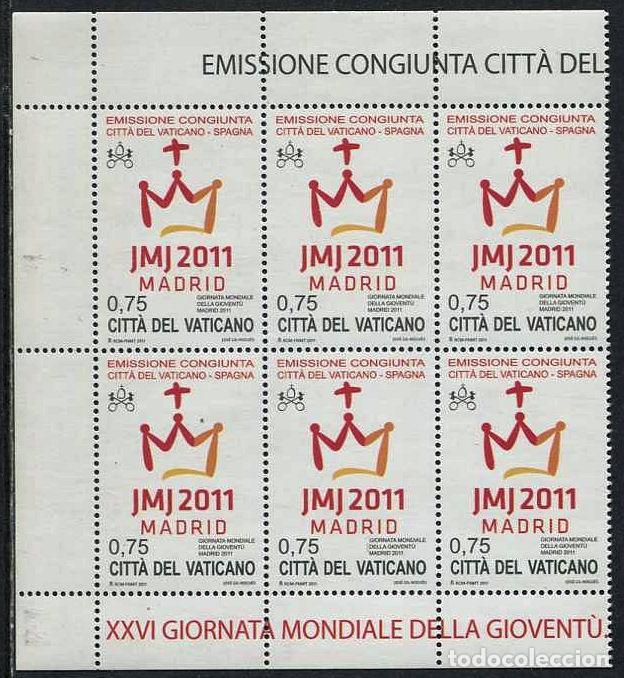 VATICANO - DIA MUNDIAL DE LA JUVENTUD / MADRID 2011 ** (Sellos - Temáticas - Religión)