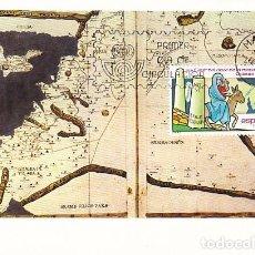 Sellos: EDIFIL 2773, 16 CENTº DEL VIAJE MONJA EGERIA AL ORIENTE BIBLICO, TARJETA MAXIMA PRIMER DIA 26-9-1984. Lote 98484031