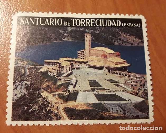 VIÑETA DEL SANTUARIO DE TORRECIUDAD (Sellos - Temáticas - Religión)