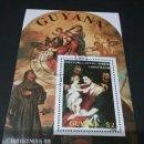 Sellos: HB/SELLOS DE GUAYANA MATASELLADA (GUYANA). RELIGION. RUBENS. TIZIANO. VIRGEN. NIÑO. SANTOS. ANGELES. Lote 104745643