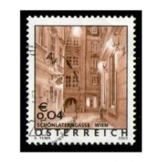 Timbres: AUSTRIA 2003. MICHEL 2420 YVERT 2252. UNESCO. HOUSE OF THE BASILISK, VIENNA. USADO. Lote 110375279