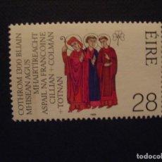 Sellos: IRLANDA Nº YVERT 686*** AÑO 1989.1300 ANIV. MARTIRIO 3 SANTOS, EMIS. CONJ. CON ALEMANIA FEDERAL. Lote 115146251