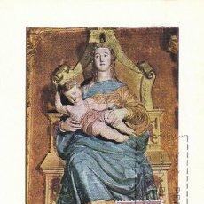 Selos: EDIFIL 1896, VIRGEN DEL MONASTERIO DEL PARRAL (SEGOVIA), TARJETA MAXIMA DE PRIMER DIA 25-11-1968. Lote 120326328