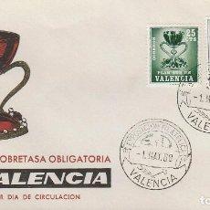 Timbres: VALENCIA EDIFIL Nº 4, EL SANTO GRIAL, PRIMER DIA DE 1-5-1968 EN SOBRE DE FLASH. Lote 114472315