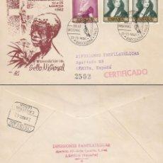 Sellos: AÑO 1962, SELLO MISIONAL (DE MISIONES), EN SOBRE DE PANFILATELICAS CIRCULADO. Lote 121044183