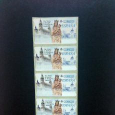 Sellos: ESPAÑA.MOTIVOS RELIGIOSOS.ETIQUETAS POSTALES, ATMS.. Lote 121801835