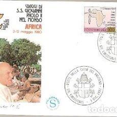 Sellos: VATICANO ** & VIAJE DE SU SANTIDAD A LA AFRICA 2-05-1980, VATICANO 1981 (998). Lote 127493247