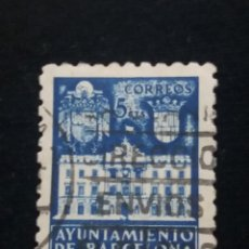 Sellos: 6 SELLOS AYUNTAMIENTO DE BARCELONA, 5 CENT, 1936 USADO. Lote 146681622