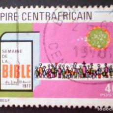 Sellos: 1977 REPÚBLICA CENTROAFRICANA SEMANA DE LA BIBLIA. Lote 147215310